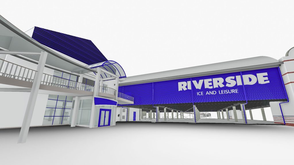 3D model of Chelmsford Leisure Centre