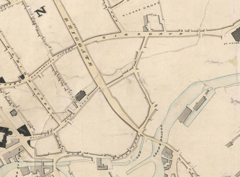 Geo-referencing historic tithe maps for West Yorkshire Archive Service